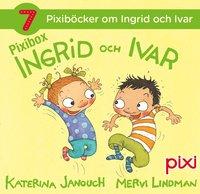 bokomslag 7 Pixiböcker om Ingrid och Ivar