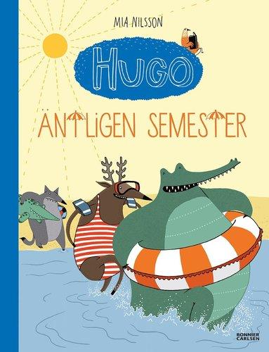 bokomslag Hugo. Äntligen semester!
