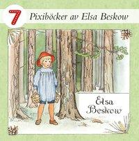 bokomslag 7 Pixiböcker av Elsa Beskow