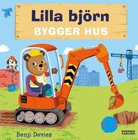Lilla björn bygger hus