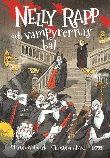 bokomslag Nelly Rapp och vampyrernas bal