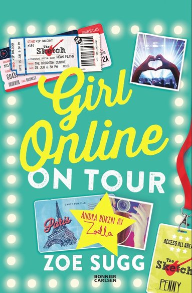 bokomslag Girl Online On Tour