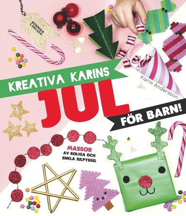 bokomslag Kreativa Karins jul för barn