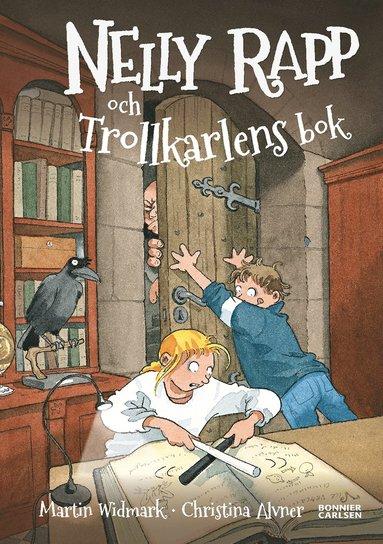 bokomslag Nelly Rapp och trollkarlens bok