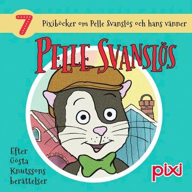 bokomslag 7 Pixiböcker om Pelle Svanslös och hans vänner