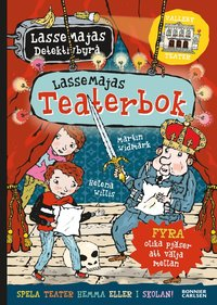 bokomslag LasseMajas teaterbok