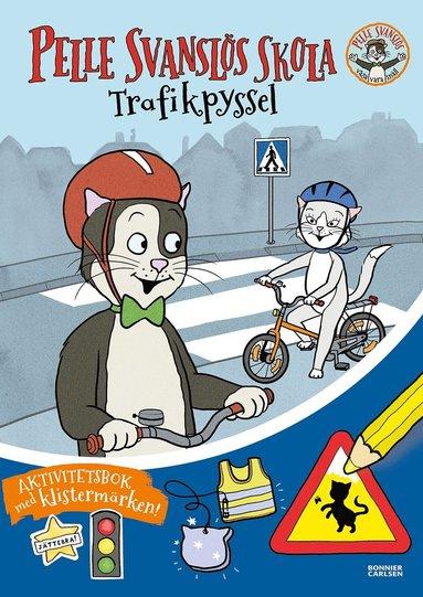 bokomslag Pelle Svanslös skola: Trafikklur