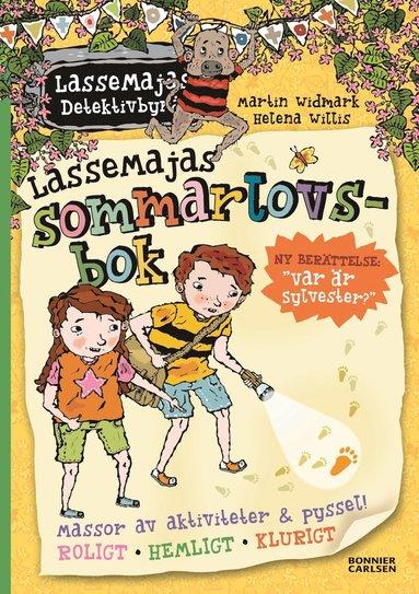 bokomslag LasseMajas sommarlovsbok. Var är Sylvester?