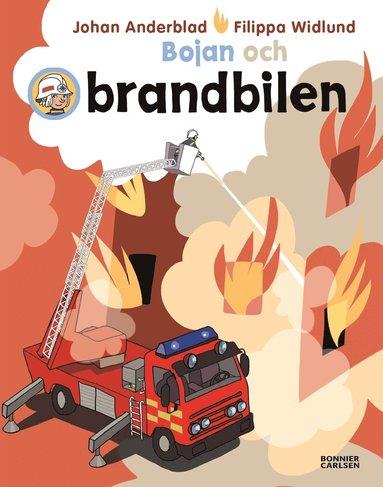 bokomslag Bojan och brandbilen