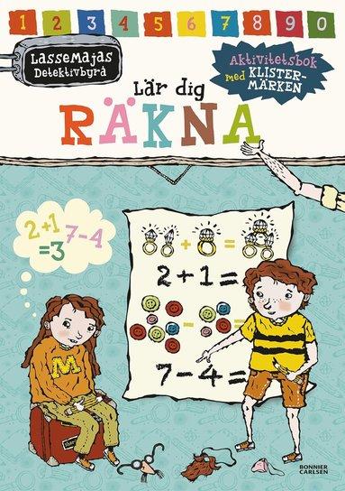 bokomslag LasseMajas detektivbyrå lär dig räkna