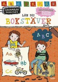 bokomslag LasseMajas detektivbyrå lär dig bokstäver