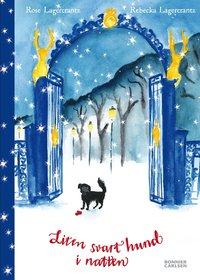 bokomslag Liten svart hund i natten
