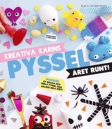 bokomslag Kreativa Karins pyssel året runt
