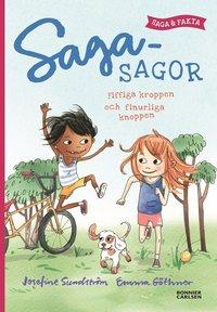 bokomslag Sagasagor. Fiffiga kroppen och finurliga knoppen - saga och fakta