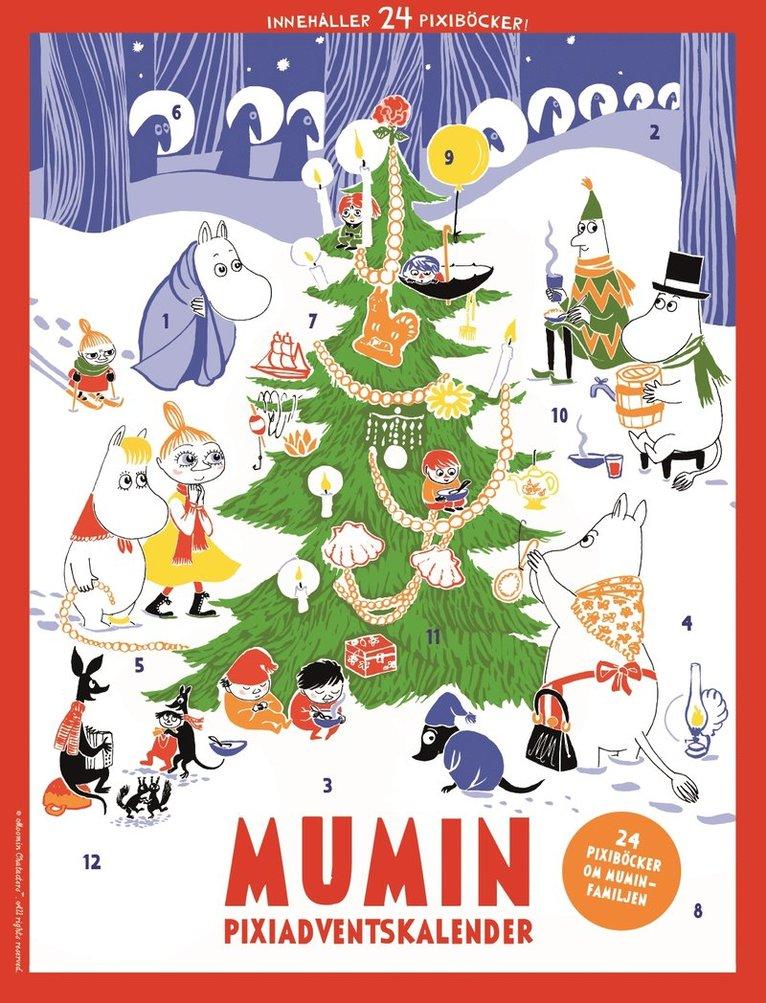 Pixi adventskalender - Mumin 1