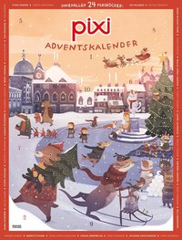 bokomslag Pixi adventskalender - Cecilia Heikkilä