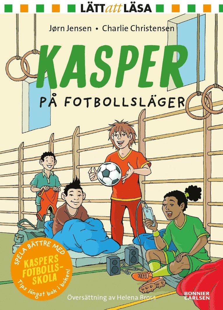 Kasper på fotbollsläger 1