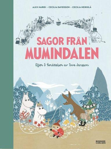 bokomslag Sagor från Mumindalen : Vägen till Mumindalen, Mumintrollen och den magiska hatten, Mumintrollen på hattifnattarnas ö