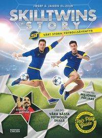 bokomslag SkillTwins   the story - vårt stora fotbollsäventyr 900fd9ab2902c
