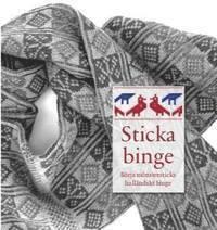 bokomslag Sticka binge : börja mönstersticka halländskt binge