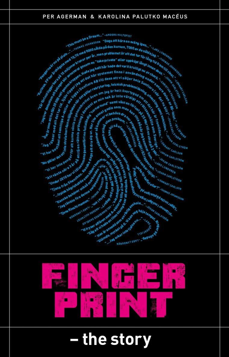 Fingerprint : the story 1