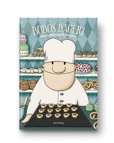 bokomslag Bobos bageri. Hallongrottorna