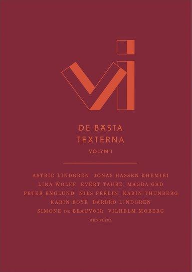 bokomslag Vi : de bästa texterna - Vol. 1