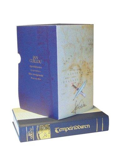 bokomslag Vägen till Jerusalem ; Tempelriddaren ; Riket till vägens slut ; Arvet efter Arn (lyxkartong)
