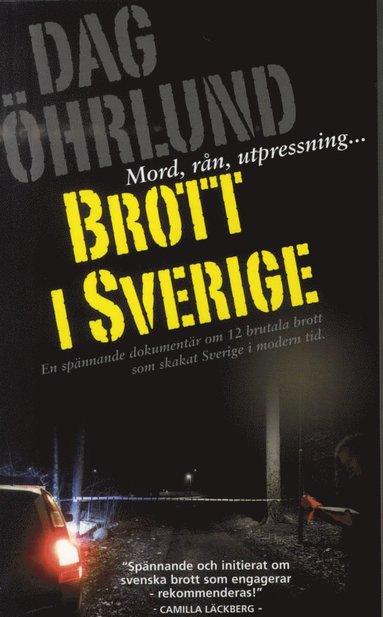 bokomslag Brott i Sverige