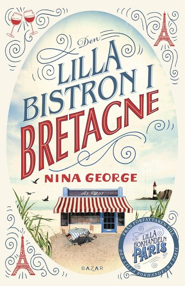 bokomslag Den lilla bistron i Bretagne