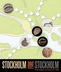 bokomslag Stockholm före Stockholm : från äldsta tid fram till 1300