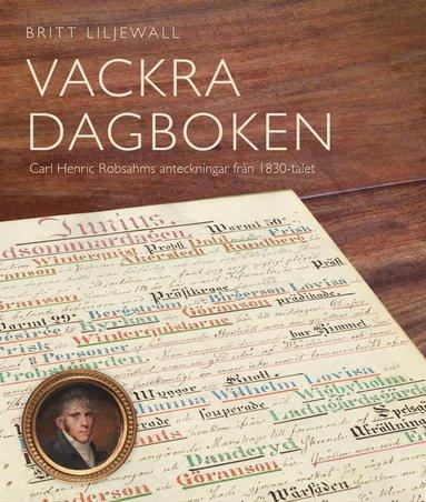 bokomslag Vackra dagboken : Carl Henric Robsahms anteckningar från 1830-talet
