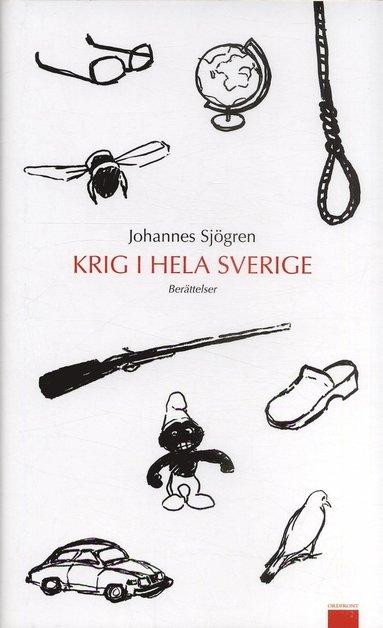 bokomslag Krig i hela Sverige : berättelser