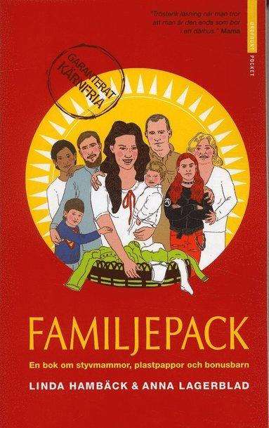 bokomslag Familjepack : en bok om styvmammor, plastpappor och bonusbarn