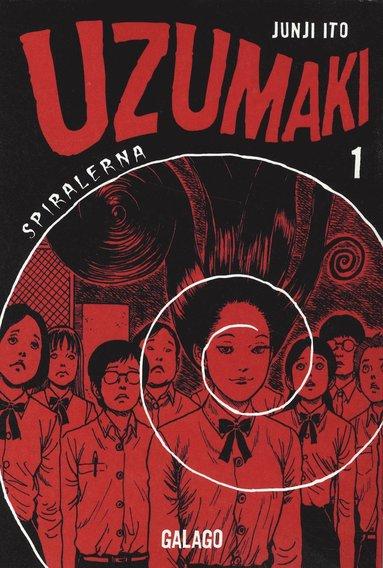 bokomslag Uzumaki : spiralerna D.1