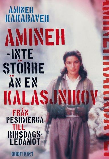 bokomslag Amineh - inte större än en kalasjnikov : från peshmerga till riksdagsledamot