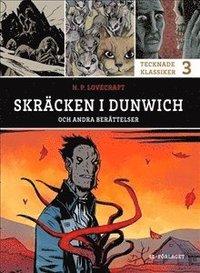 bokomslag Skräcken i Dunwich och andra berättelser