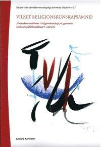 bokomslag Vilket religionskunskapsämne?