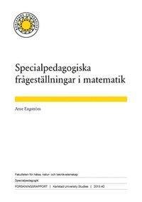 bokomslag Specialpedagogiska frågeställningar i matematik