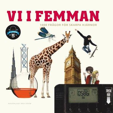 bokomslag Vi i femman : 1000 frågor för skarpa hjärnor