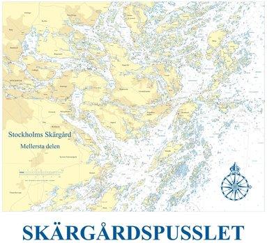 bokomslag Skärgårdspusslet