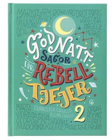 bokomslag Godnattsagor för rebelltjejer 2
