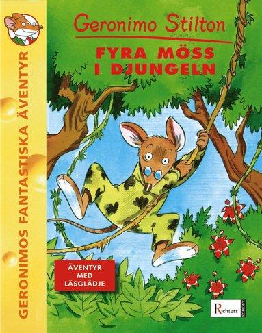 bokomslag Fyra möss i svarta djungeln