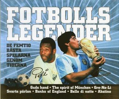 bokomslag Fotbollslegender : de femtio bästa spelarna genom tiderna
