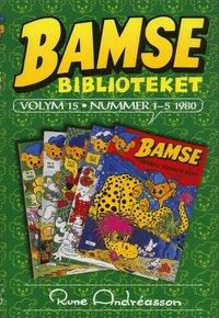 bokomslag Bamsebiblioteket. Vol. 15, Nummer 1-5 1980