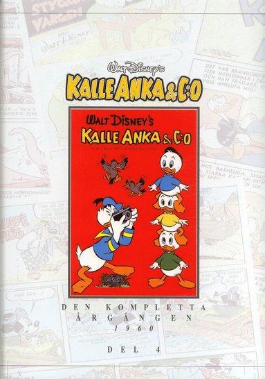 bokomslag Kalle Anka & C:o. Den kompletta årgången 1960. D. 4