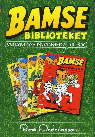 bokomslag Bamsebiblioteket. Vol. 16, Nummer 6-10 1980