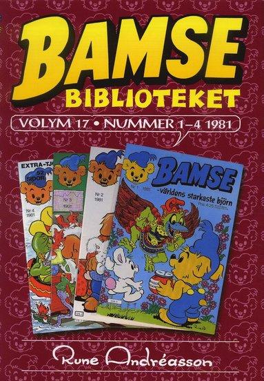 bokomslag Bamsebiblioteket. Vol. 17, Nummer 1-4 1981