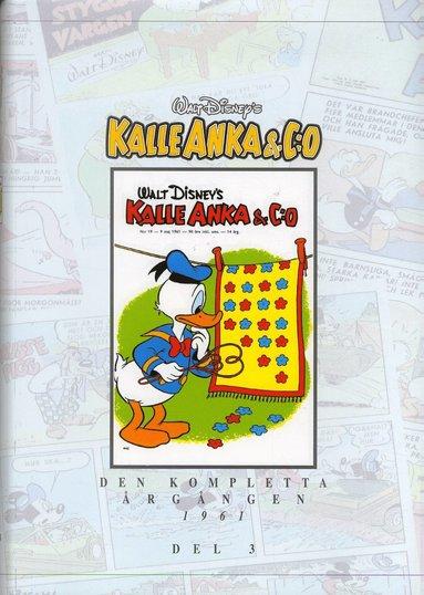 bokomslag Kalle Anka & C:o. Den kompletta årgången 1961. D. 3