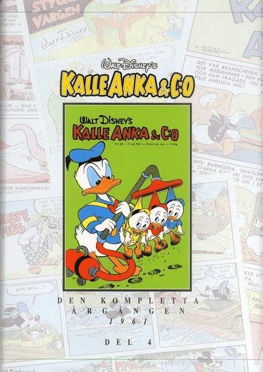 bokomslag Kalle Anka & C:o. Den kompletta årgången 1961. D. 4